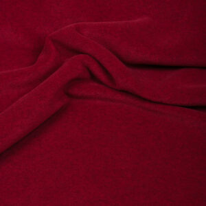Fleece, Uni, Rubinrot