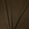 hochwertiger Mantelvelours, Uni, Braungrün