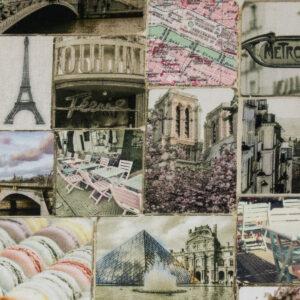 Panama, Paris, Pastelltöne, Grautöne