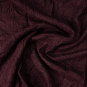edles Wolltuch, gefilzt, leichtes Relief, Bordeaux