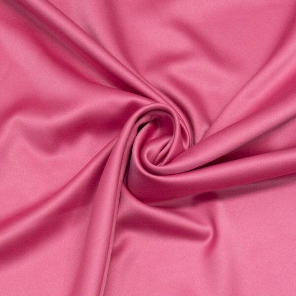 leichter Satin, Uni, Pink