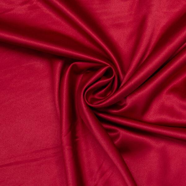 leichter Satin, Uni, Rot