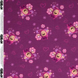 Jersey, Digitaldruck, Violett