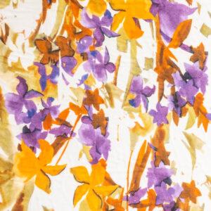 Viskosevoile Floral