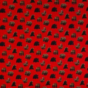 Crêpe, Tollende Bären, Rot