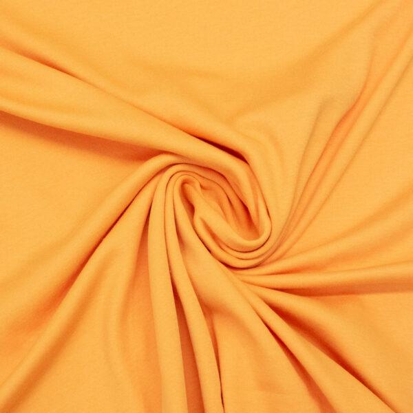 Baumwolljersey, Uni, Orange hell