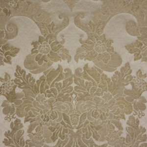 Jacquard, Barock Stil, Beige-Gold