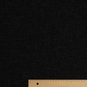 Feiner Woll Tweed in Crêpe-Optik, Anthrazit