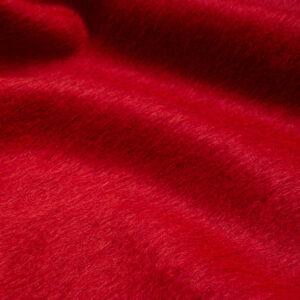 Mantelflausch, Uni, Rot