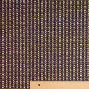 Woll Tweed, Oliv, Violett