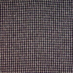 Woll Tweed, Aubergine, Grau Meliert