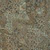 Jacquard, Fresken-Optik, Taupe, Mint