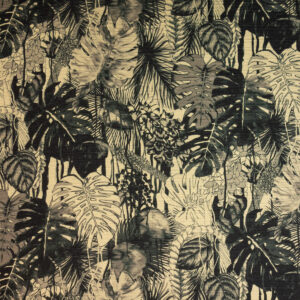 Edler Double Face, Tropic Exotic, Beige, Schwarz