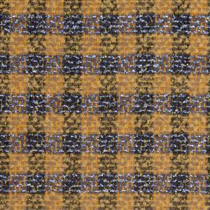 Edler Woll Tweed mit Mohair, Webkaro Vanille, Metallic