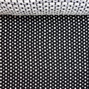 Tweed, Struktur Punkte, Schwarz-Weiß