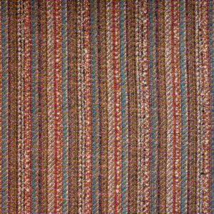 Edler Woll Tweed, Webstreifen, Bunt