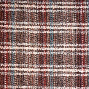 Edler Woll Tweed, Karo, Bunt