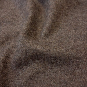 Wolljersey, Double Face, meliert, Taupe, Grau