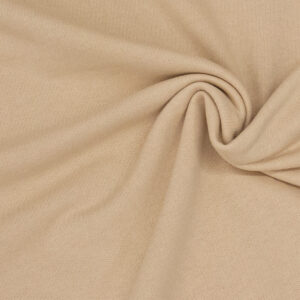 hochwertiger Baumwollsweat, Uni, Nude