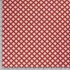 Popeline, grafisch gemustert, Rottöne, Senf