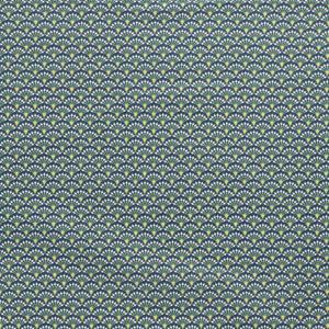 Popeline, grafisch gemustert, Waldgrün, Oliv