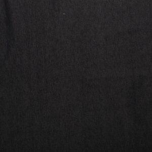 mittelschwerer Jeans, Uni, Schwarz
