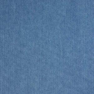 mittelschwerer Jeans, Uni, Mittelblau