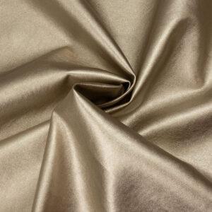 robustes Lederimitat, metallic, Weißgold