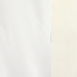 elastisches Lederimitat, Uni, Weiß