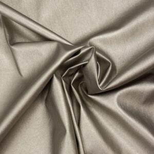 elastisches Lederimitat, metallic, Antik Silber