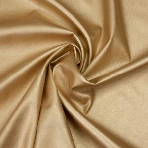 elastisches Lederimitat, metallic, Gold