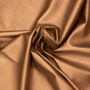 elastisches Lederimitat, metallic, Kupfer