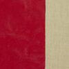 Lederimitat, Uni, Genarbt, Rot