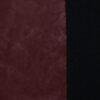 Lederimitat, Uni, Genarbt, Bordeaux