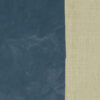Lederimitat, Uni, Genarbt, Jeansblau