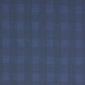 Kammgarn, Karo, Blautöne