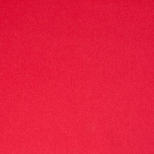 Mantelvelours, Uni, Rot
