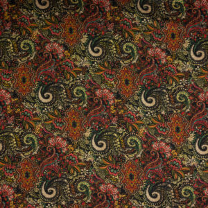 Double Face Paisley Rot