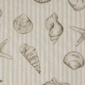Jacquard, Streifen, Maritim, Offwhite, Natur, Sand