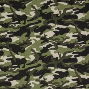 feiner Crétonne, Camouflage, Grüntöne