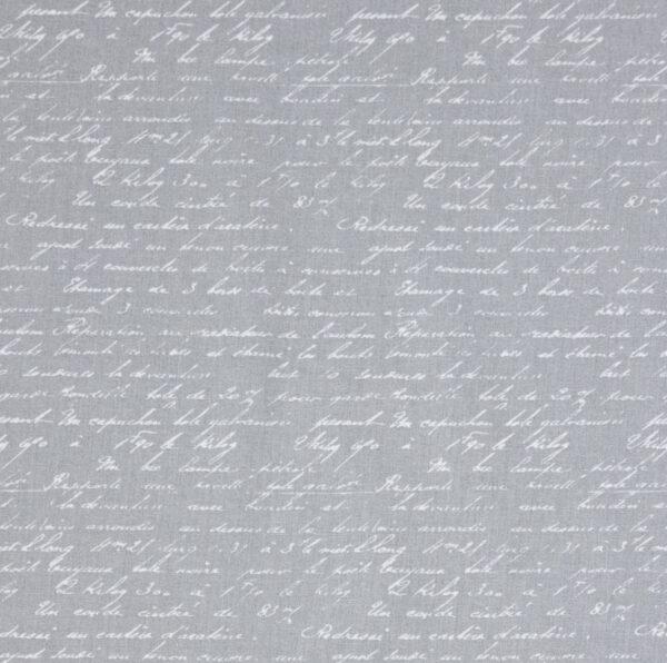 feiner Crétonne, Typographie, Offwhite, Hellgrau