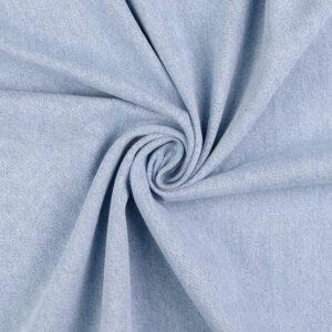 mittelschwerer Jeans, Uni, Hellblau