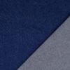mittelschwerer Jeans, Uni, Dunkelblau