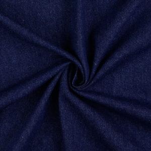 mittelschwerer Jeans, Uni, Schwarzblau
