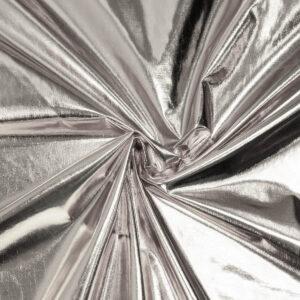 Lamé, Glanzeffekt, Silber