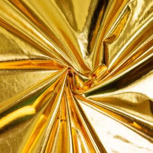 Lamé, Glanzeffekt, Gold
