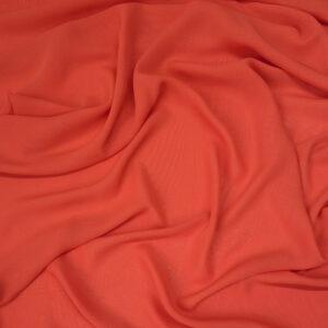 Chiffon, Uni, Orange