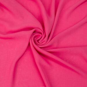 Chiffon, Uni, Pink