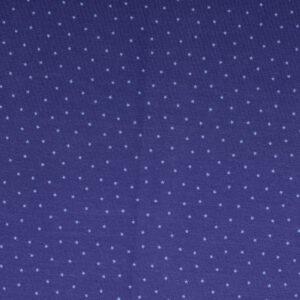 Baumwolljersey, Sterne, Marine, Veilchenblau