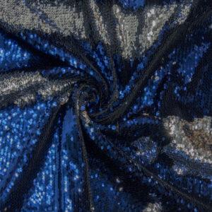 Wendepaillette, Bicolor, Blau, Silber